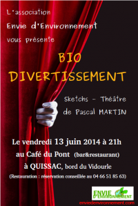 Affiche bio Divertissement